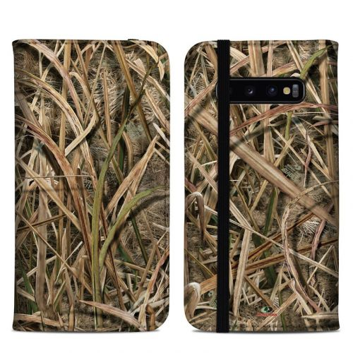 Shadow Grass Blades Samsung Galaxy S10 Plus Folio Case