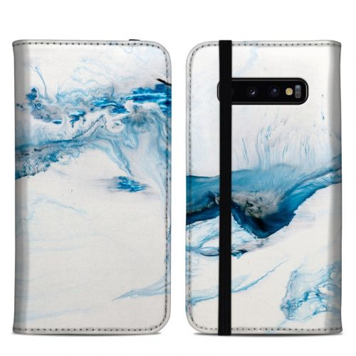 Polar Marble Samsung Galaxy S10 Plus Folio Case