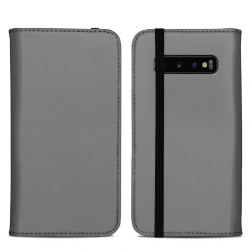Solid State Grey Samsung Galaxy S10 Plus Folio Case