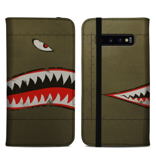 USAF Shark Samsung Galaxy S10 Plus Folio Case