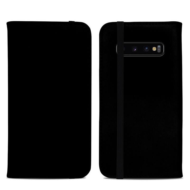 Samsung Galaxy S10 Plus Folio Case design of Black, Darkness, White, Sky, Light, Red, Text, Brown, Font, Atmosphere with black colors