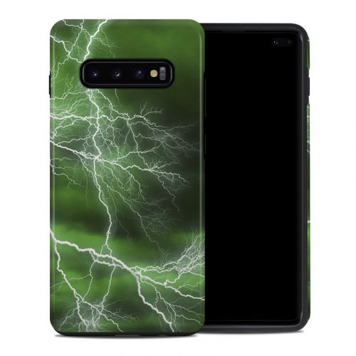 Apocalypse Green Samsung Galaxy S10 Plus Hybrid Case