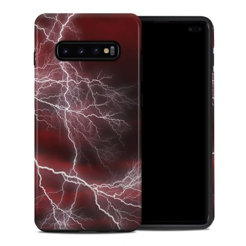 Apocalypse Red Samsung Galaxy S10 Plus Hybrid Case