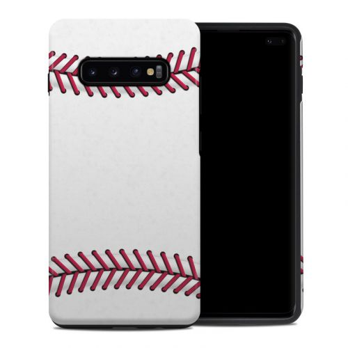 Baseball Samsung Galaxy S10 Plus Hybrid Case