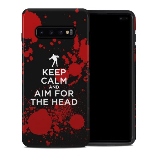 Zombie Samsung Galaxy S10 Plus Hybrid Case