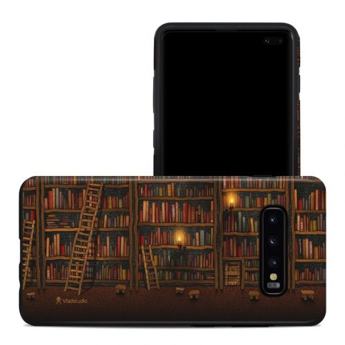 Library Samsung Galaxy S10 Plus Hybrid Case