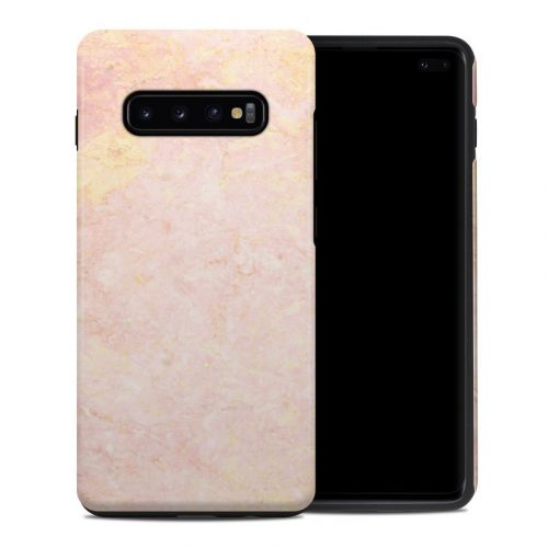 Rose Gold Marble Samsung Galaxy S10 Plus Hybrid Case
