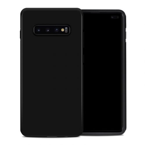 Solid State Black Samsung Galaxy S10 Plus Hybrid Case