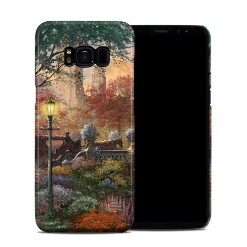 Autumn in New York Galaxy S8 Clip Case