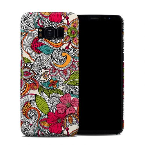 Doodles Color Galaxy S8 Clip Case