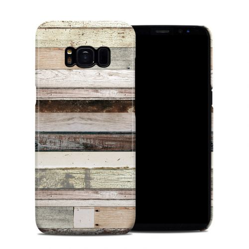 Eclectic Wood Galaxy S8 Clip Case