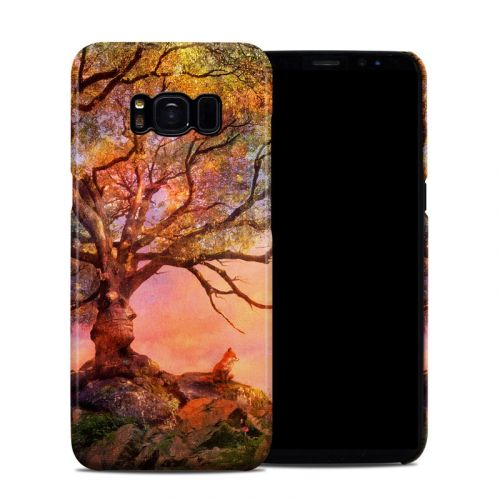 Fox Sunset Samsung Galaxy S8 Clip Case