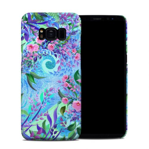 Lavender Flowers Samsung Galaxy S8 Clip Case