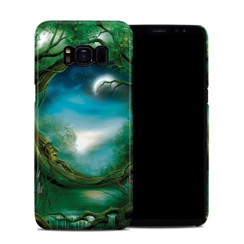 Moon Tree Samsung Galaxy S8 Clip Case