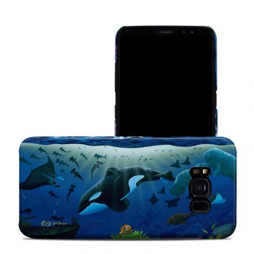 Oceans For Youth Galaxy S8 Clip Case
