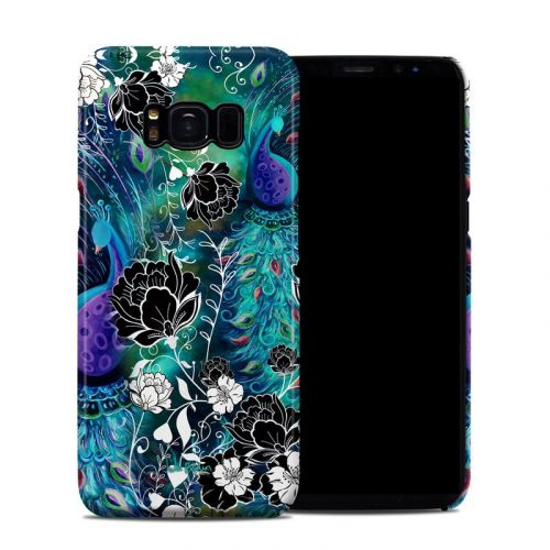 Peacock Garden Galaxy S8 Clip Case