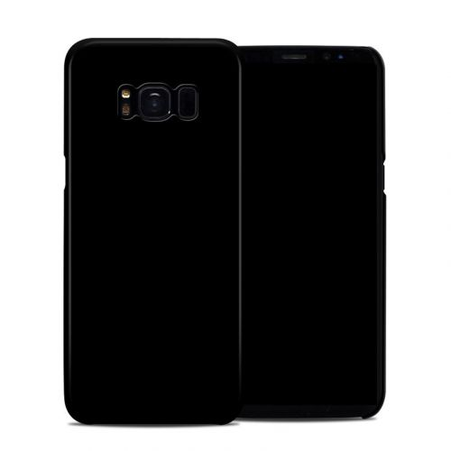 Solid State Black Galaxy S8 Clip Case