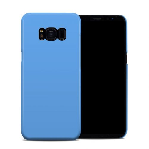 Solid State Blue Galaxy S8 Clip Case