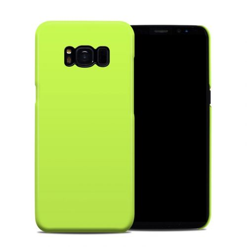 Solid State Lime Galaxy S8 Clip Case