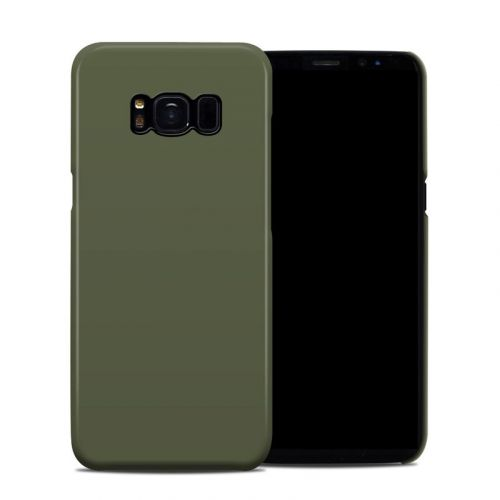 Solid State Olive Drab Samsung Galaxy S8 Clip Case