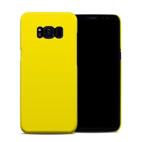 Solid State Yellow Galaxy S8 Clip Case