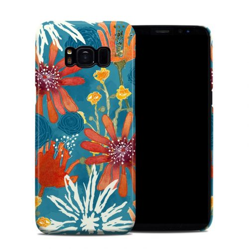 Sunbaked Blooms Galaxy S8 Clip Case