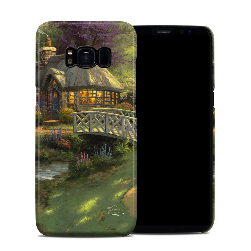 Samsung Galaxy S8 Clip Case design of Natural landscape, Nature, Strategy video game, Painting, Landscape, Morning, Biome, Landscaping, Rural area, Tree with black, green, red, gray colors