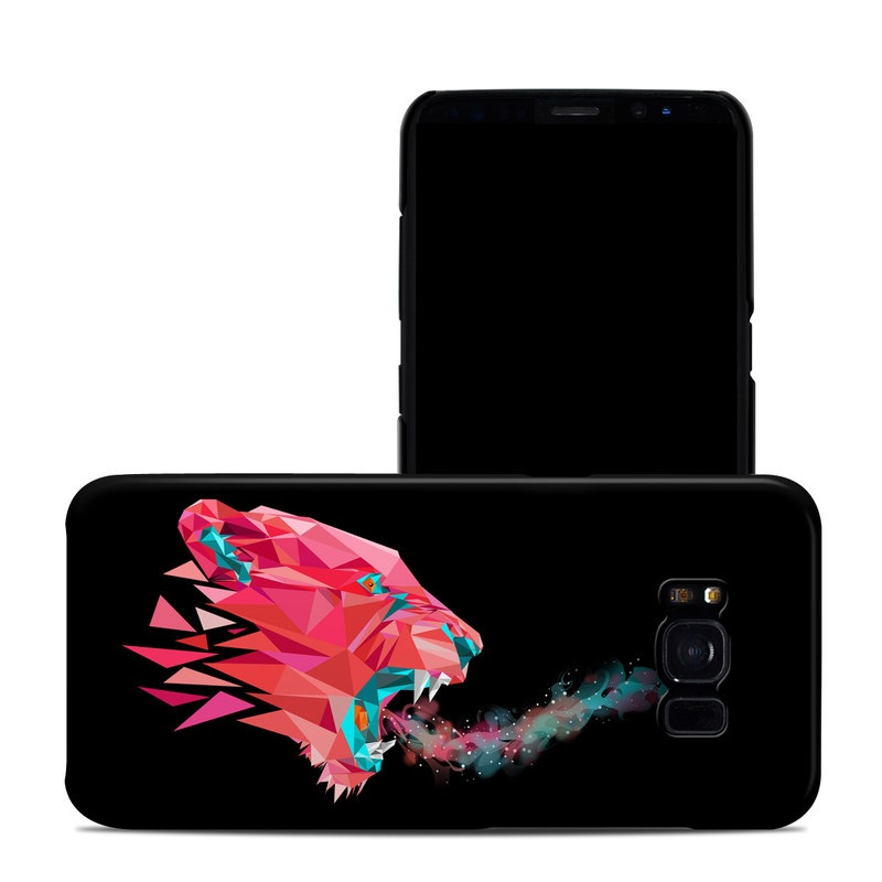 Samsung Galaxy S8 Clip Case design of Pink, Graphic design, Illustration, Design, Organism, Graphics, Font, Art, Animation, Pattern with black, red, pink, gray colors