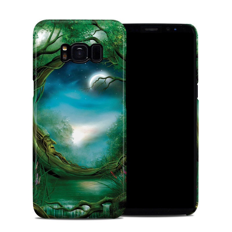 Moon Tree Galaxy S8 Clip Case