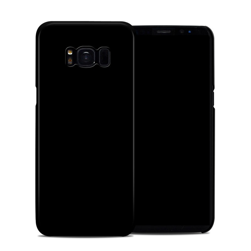 Solid State Black Samsung Galaxy S8 Clip Case
