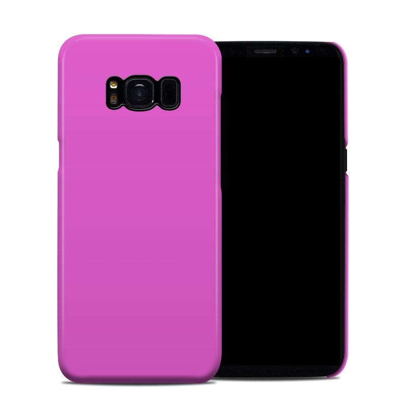 Samsung Galaxy S8 Clip Case design of Violet, Pink, Purple, Red, Lilac, Magenta, Blue, Lavender, Text, Sky with pink colors