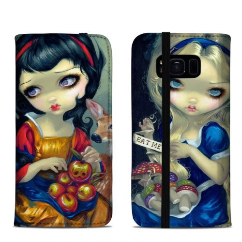 Alice & Snow White Samsung Galaxy S8 Folio Case