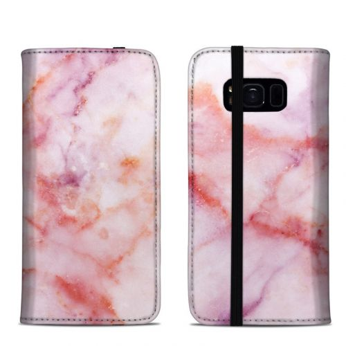 Blush Marble Samsung Galaxy S8 Folio Case