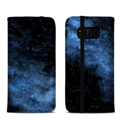 Milky Way Samsung Galaxy S8 Folio Case