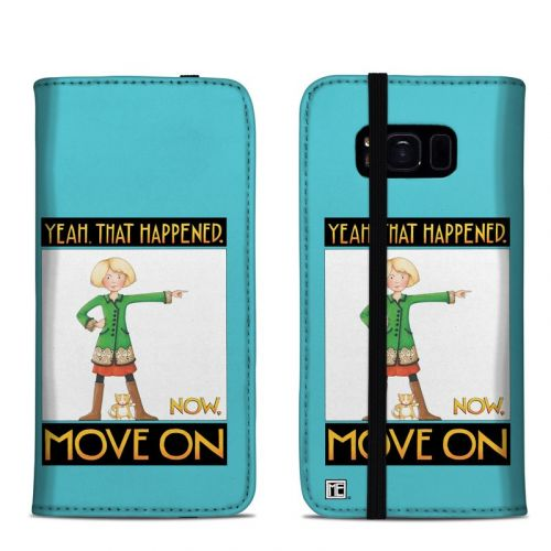 Move On Samsung Galaxy S8 Folio Case