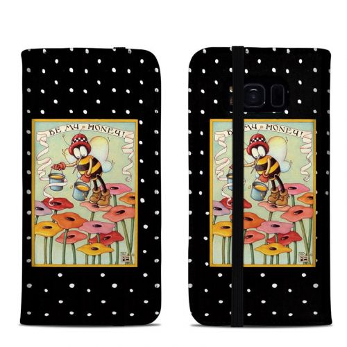 Be My Honey Samsung Galaxy S8 Folio Case