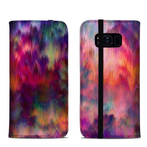 Sunset Storm Samsung Galaxy S8 Folio Case