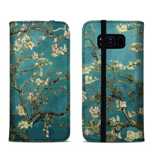 Blossoming Almond Tree Samsung Galaxy S8 Folio Case