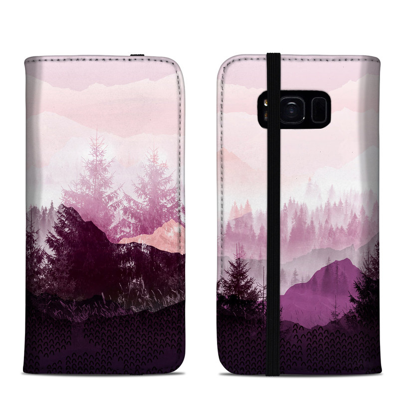 Purple Horizon Samsung Galaxy S8 Folio Case