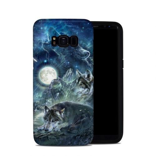 Bark At The Moon Samsung Galaxy S8 Hybrid Case