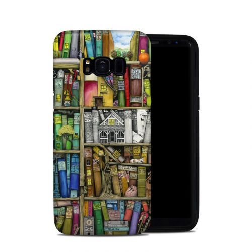 Bookshelf Samsung Galaxy S8 Hybrid Case