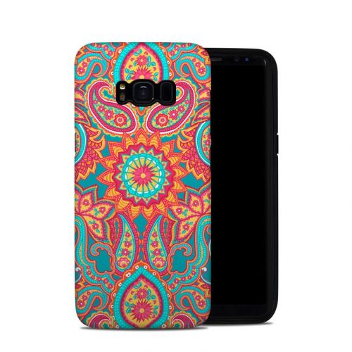 Carnival Paisley Samsung Galaxy S8 Hybrid Case