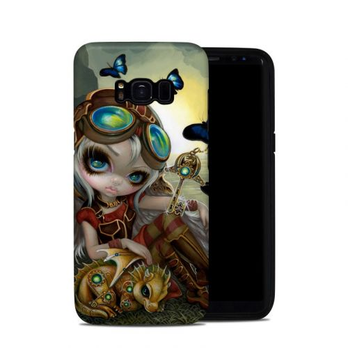 Clockwork Dragonling Samsung Galaxy S8 Hybrid Case