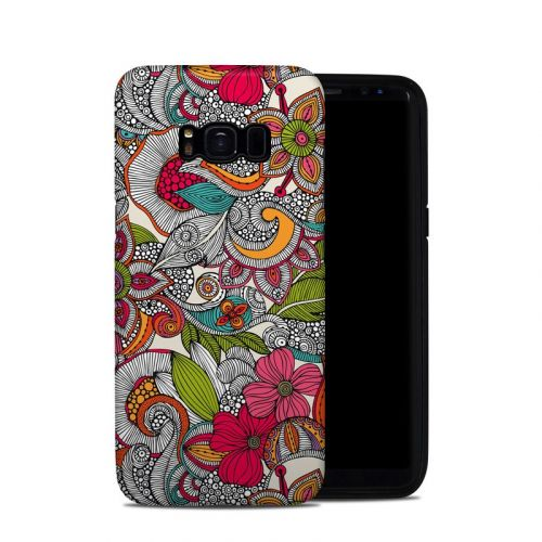 Doodles Color Galaxy S8 Hybrid Case