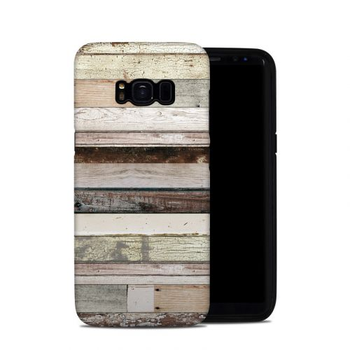 Eclectic Wood Galaxy S8 Hybrid Case