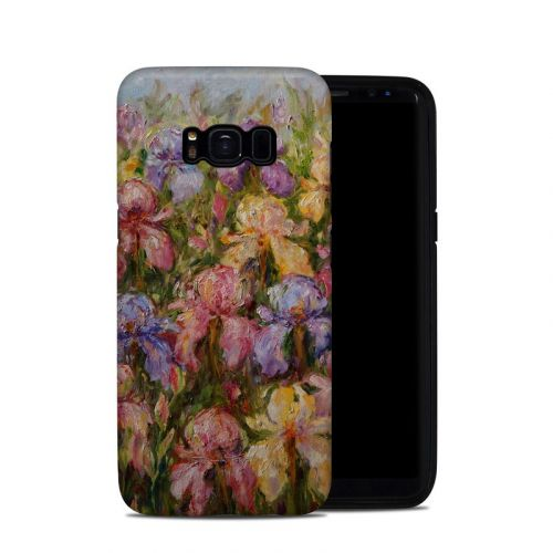 Field Of Irises Galaxy S8 Hybrid Case