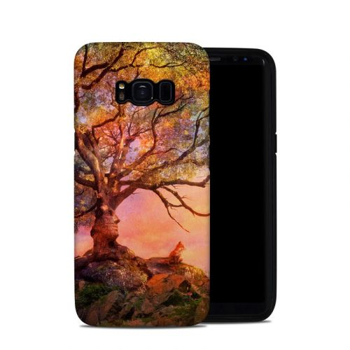 Fox Sunset Samsung Galaxy S8 Hybrid Case