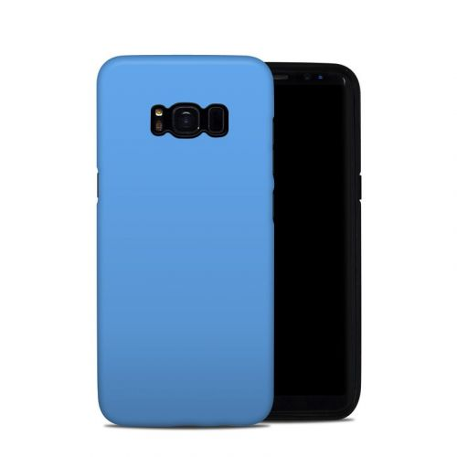 Solid State Blue Galaxy S8 Hybrid Case