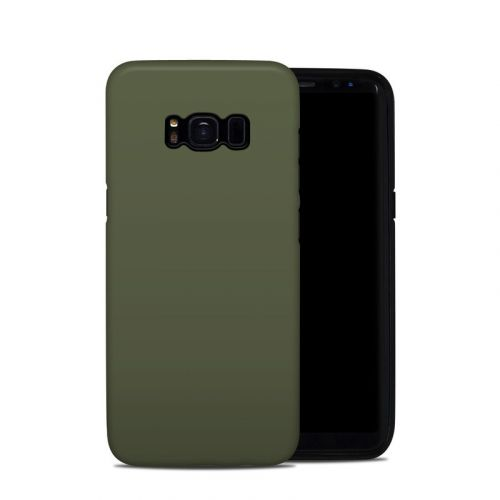 Solid State Olive Drab Samsung Galaxy S8 Hybrid Case