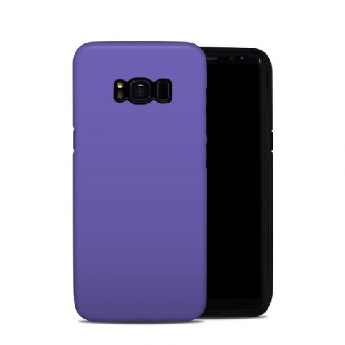 Solid State Purple Samsung Galaxy S8 Hybrid Case